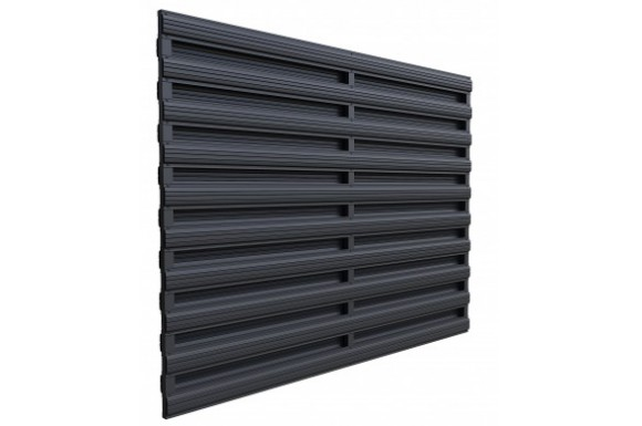 Gard Ștachet orizontal Dublu XL-O/23